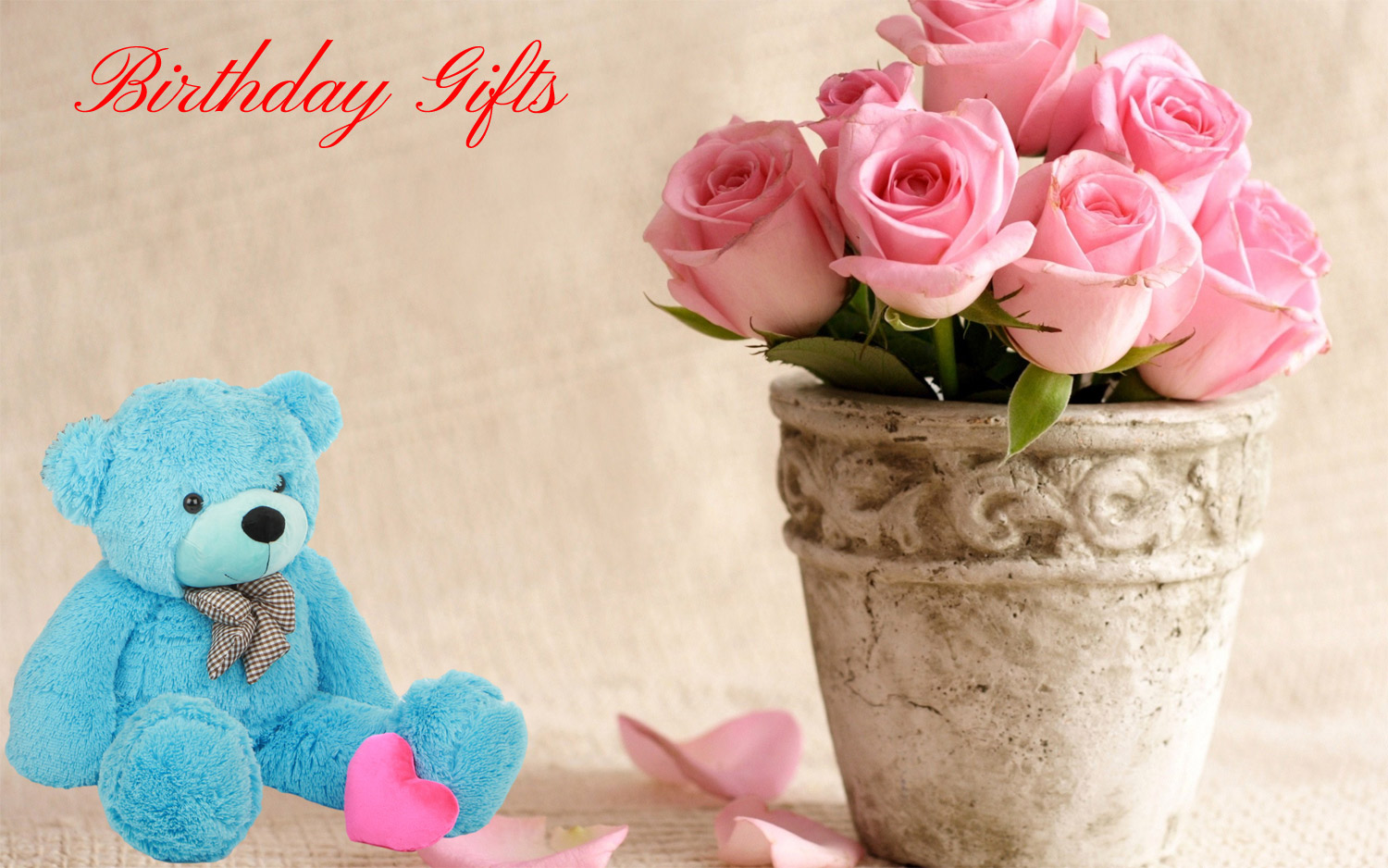 Enjoy Sending Birthday Gifts Via Online Sites India Flower Mall