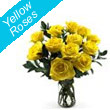 Yellow Roses FLowers in Imphal