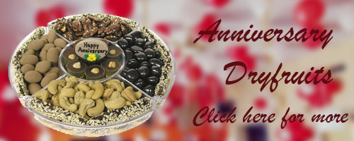 Anniversary Dry Fruits to Raipur