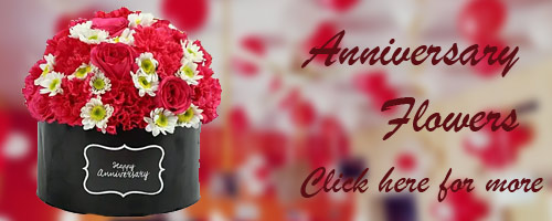 Anniversary Flower Delivery in Raipur