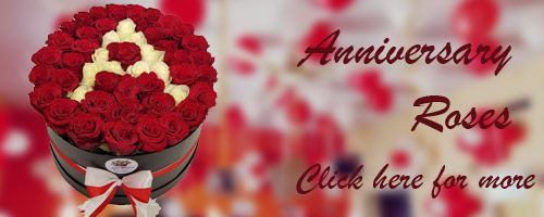 Anniversary Flowers to Raipur