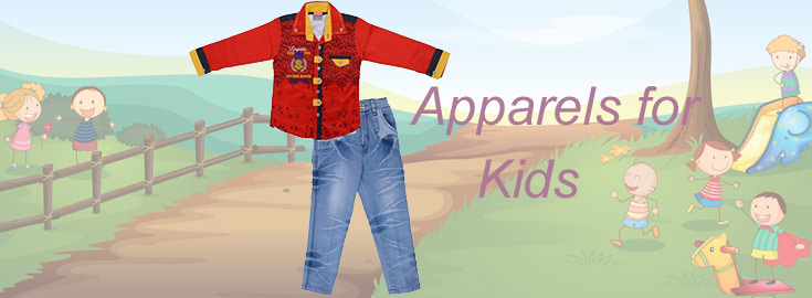 Kids Apparels to India