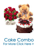Send Cakes to India : Flowers to India : Combination Gifts to India
