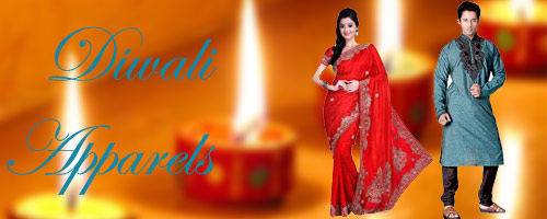 Online Diwali Apparels to India