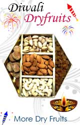 Send Diwali Gifts to India : Diwali Dry Fruits to India