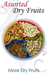Gifts to India, Dry Fruits to Bhilai