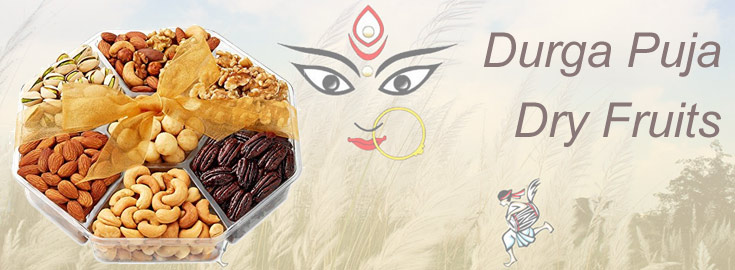 Durga Puja Dry Fruits Delivery