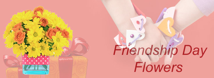 Friendship Day Flowers to India