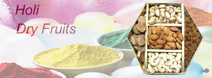 Holi Dry Fruits Delivery to India