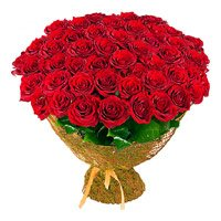Online Red Roses Bouquet 100 Flowers Delivery in India
