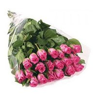 Online Pink Roses Bouquet 24 Flowers Delivery in India