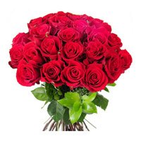 Online Red Roses Bouquet 24 Flowers to India Delivery in India