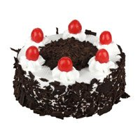 Send Father's Day Black Forest Cake to India