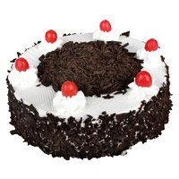 Send Cake to India Online - Eggless Black Forest Cake