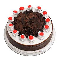 Valentine's Day Cake Online in India - Black Forest Cake