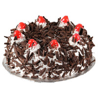 Order Online Rakhi with Black Forest Cakes to India From 5 Star Hotel