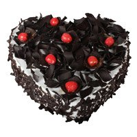 Cakes to India - Heart Cake Delivery in India