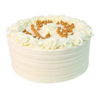Deliver Rakhi in India with Butter Scotch Cake From 5 Star Bakery