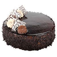Send Eggless Cake in India - Chocolate Cake From 5 Star
