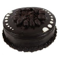 Send Eggless Valentine's Day Cakes to India - Chocolate Cake