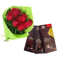 Deliver Rakhi to India with 5 Cadbury Bournville Chocolates in India