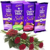 Chocolate n Bouquet Delivery in India