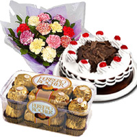 Send Chocolates with Flowers to India