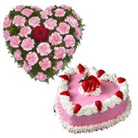 Birthday Cakes and Flowers to India