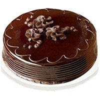 Valentine's Day Eggless Cakes in India - Chocolate Truffle Cake