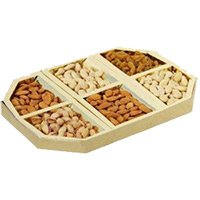 Same Day Rakhi with Fancy Dry Fruits Gift Delivery in India