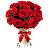 Send Red Roses Bouquet 12 Flowers to Imphal. Exclusive Bouquet delivery in Imphal