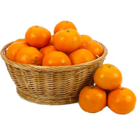 basket of 18 pcs fresh orange