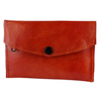 Send Birthday Leather Work In Batik Print Gift For Her