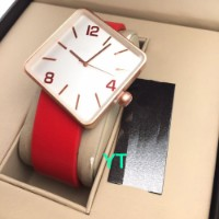Rakhi Gifts For Brother Square Dial Red Watch