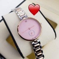 Send Rakhi Gift Rose Gold Ladies Watch for sister delivery in India