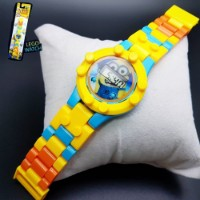 Online Kids Watches For Rakhi Gifts In India Yellow Minion Kids Watch