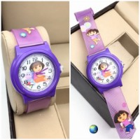 Purple Dora The Explorer Kids Watch for kid sister