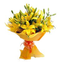 Online Flower Delivery in India - Yellow