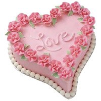 Online Mother's Day Eggless Cakes to India