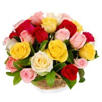 Online New Year Flowers Delivery in India