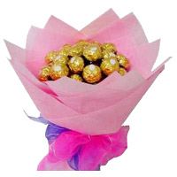 Bouquet of 16 Ferrero Rocher Pieces