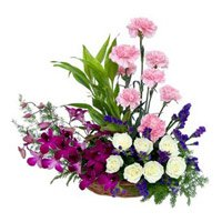 Mother's Day Flowers to India : Flower Baskets to India