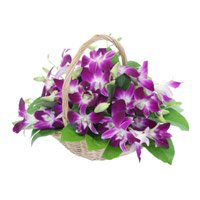 Flower Delivery in India - Orchid Basket