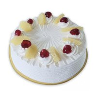 Send Cakes to Shimoga - Pineapple Cake
