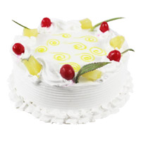 Deliver Cakes to India - Pineapple Cake From 5 Star
