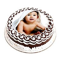 Send Cakes to India Same Day - 1 Kg Photo Cake