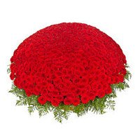 Red Roses Basket of 1000 Flowers delivery in India