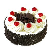 Cake Delivery in Rourkela - 1 Kg Black Forest Cake