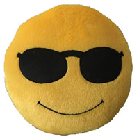 Same Day Gifts to India - Smiley Online Cushions