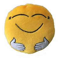 Send Gifts to India - Smiley Pillow Gifts